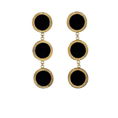 Triple Circle Dangle Earrings Bohemian Earring
