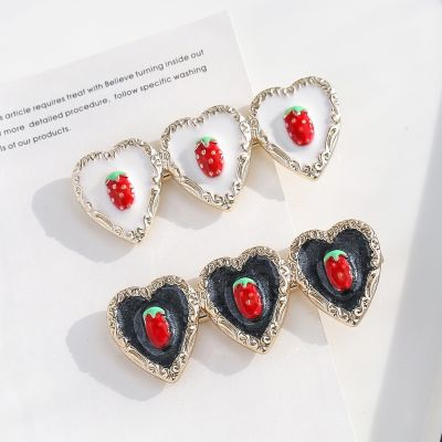 Cute Heart Fruits Hair Clips Gifts for Girls