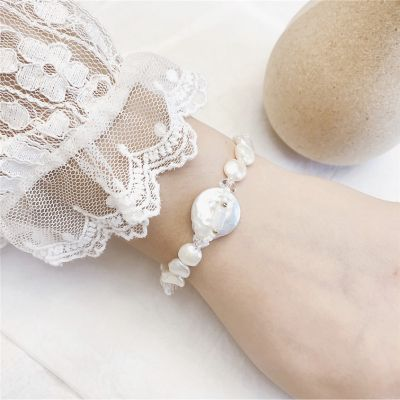 Fashion Baroque Pearls Bracelets for Wedding