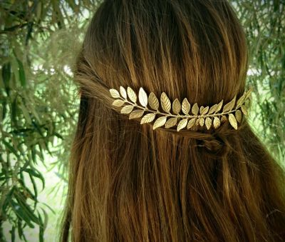 Wedding Leaf Hair Comb Alloy Vintage Hair Accessories