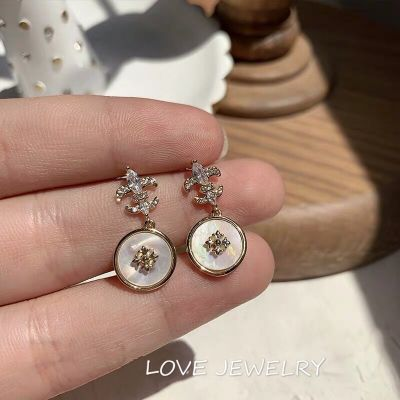 Mini Shell Drop Earrings Cute Earring for Travel