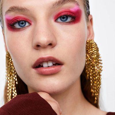 Bohemia Women Long Tassel Rhinestone Fringe Dangly Earrings