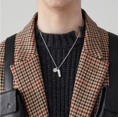 Chic Capsule Drop Necklace Chain Sweater Necklace