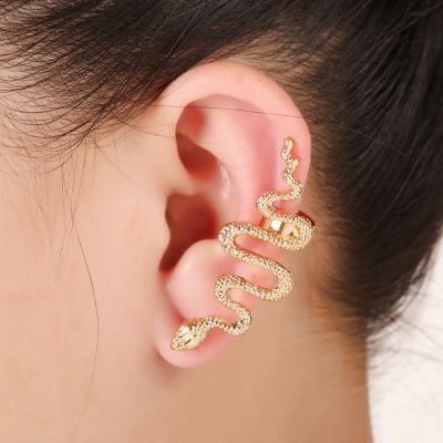 Chic Snake Ear Cuff Ladies Statement Earring for Party