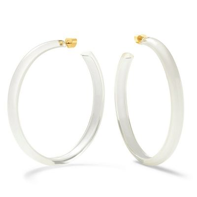 Fashion Acrylic Big Hoop Earring Resign Earrings