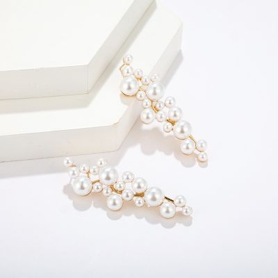 Fashion Pearls Drop Earring Longer Dangle Earrings