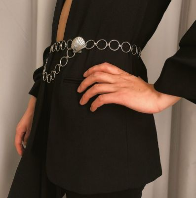 Geometric Waist Chain Punk Shell Body Jewelry