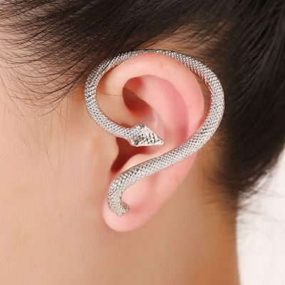 Snake Ear Cuff Stud Earrings Ear Suspender for Party 1 Piece