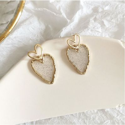 Sweet Heart Drop Stud Earrings Gifts for Birthday Anniversary Christmas